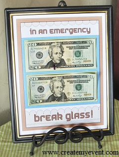 Last Minute Birthday Gift Ideas - Break Glass in an Emergenc
