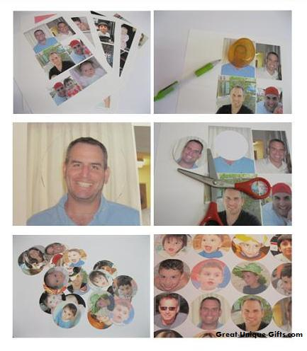 Creating a Photo Collage the Old Fashioned Way