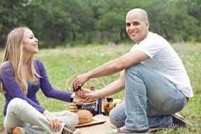 Romantic Personalized Gifts - Picnic