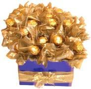 Homemade Teacher Gifts - Chocolate Bouquet